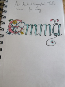Diary Front Cover